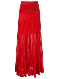 long ribbed skirt Andrea Bogosian