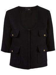 textured jacket Andrea Bogosian