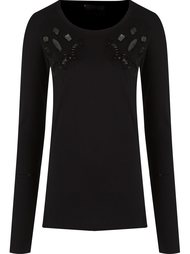 embroidered blouse Andrea Bogosian