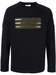 applique detail sweatshirt Les Benjamins