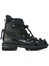 ботинки в стиле милитари  Dsquared2