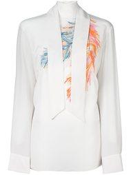 блузка с шарфом  Emilio Pucci