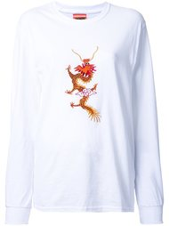 dragon embroidered T-shirt Growing Pains