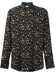 рубашка с рисунком в виде звезд Saint Laurent