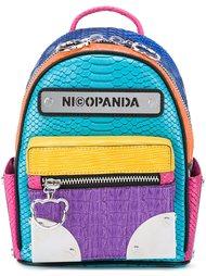 logo patch backpack Nicopanda