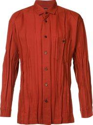 плиссированная рубашка Issey Miyake Men