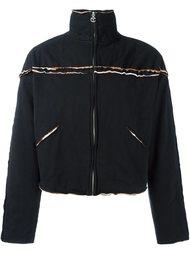куртка с необработанными краями на молнии Telfar