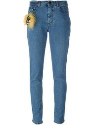 джинсы кроя скинни Bag Bugs Fendi