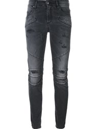 distressed skinny jeans Pierre Balmain