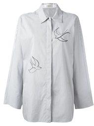 рубашка в полоску Nina Ricci