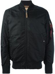дутая куртка бомбер Alpha Industries
