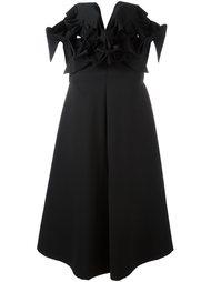 расклешенное платье с оборками Junya Watanabe Comme Des Garçons