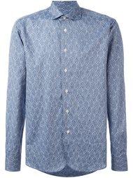 рубашка с вышивкой Al Duca D'Aosta 1902