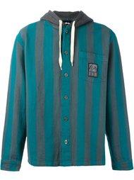 куртка-рубашка с капюшоном Stussy