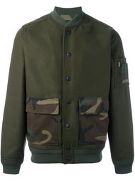куртка-бомбер с накладными карманами Hydrogen
