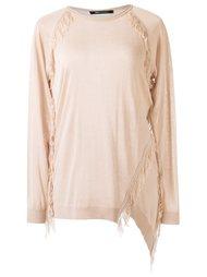 fringed blouse Uma | Raquel Davidowicz