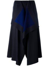 asymmetric mid skirt Cédric Charlier