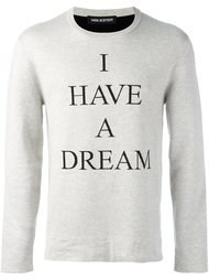 свитер 'I have a dream'  Neil Barrett