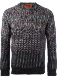 свитер с круглым вырезом Missoni