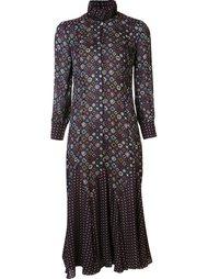 расклешенное платье с узором Derek Lam 10 Crosby