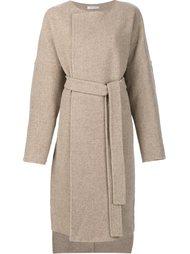 belted coat Protagonist