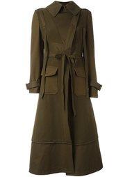 пальто в стиле милитари  Alexander McQueen