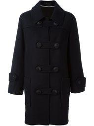 двубортное пальто дизайна колор-блок Cédric Charlier