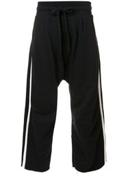 side stripe track pants  Osklen