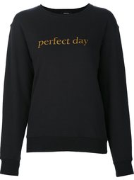 толстовка с принтом 'perfect day'  Undercover