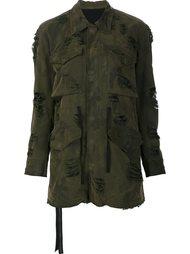 куртка в стиле милитари Unravel