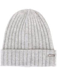 шапка-бини в рубчик Woolrich