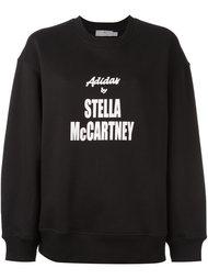 толстовка с принтом-логотипом Adidas By Stella Mccartney