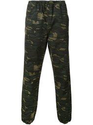 камуфляжные брюки Alexander Wang