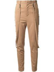 брюки с завышенной талией и ремешками  G.V.G.V.