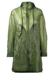 semi sheer raincoat Y-3