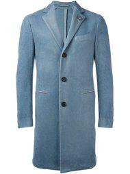однобортное пальто Lardini
