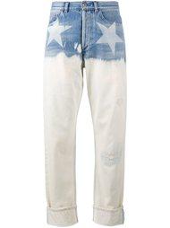 широкие джинсы со звездами Faith Connexion