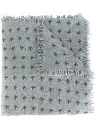 butterfly print scarf Fefè