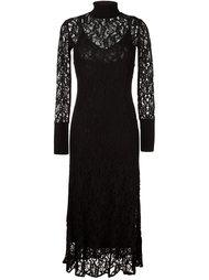 lace overlay dress By Malene Birger