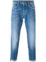джинсы с потертой отделкой Pence