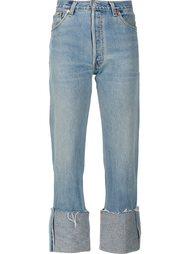 джинсы с отворотами Re/Done