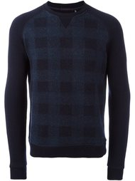свитер в клетку Woolrich