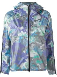 purple bloom run jacket Adidas By Stella Mccartney