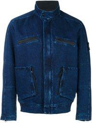джинсовая куртка Stone Island