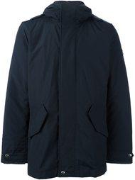 стеганая куртка с капюшоном Woolrich