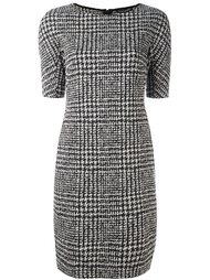 plaid fitted dress Luisa Cerano