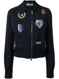 куртка-бомбер с нашивками  Stella McCartney