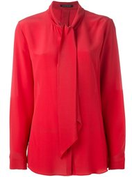 bow neck blouse Luisa Cerano