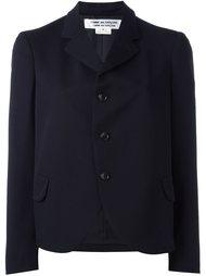 однобортный укороченный пиджак  Comme Des Garçons Comme Des Garçons