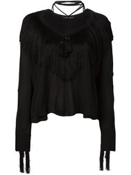 fringed blouse  Plein Sud